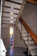 Glas in lood trappenhuis